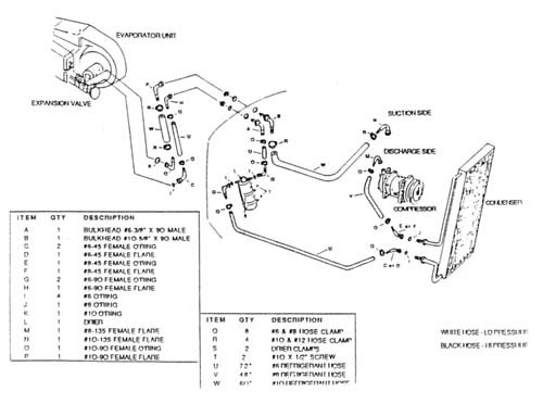 Ac Hose Routing on 1964 chevy truck heater wiring diagram