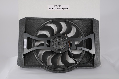 Extreme cooling fans